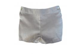 Pantalón cortito gris