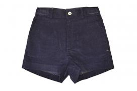 Pantalón micropana azul marino