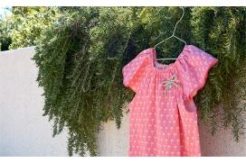 Ranita rosa chicle de palmeras