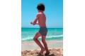 Bañador boxer lycra rayas marino