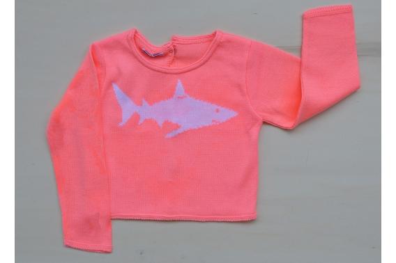 Jersey flúor tiburón unisex