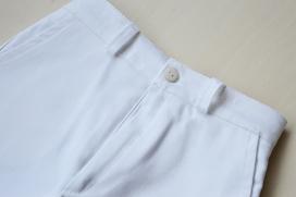 Pantalón cortito blanco