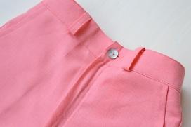 Pantalón cortito coral