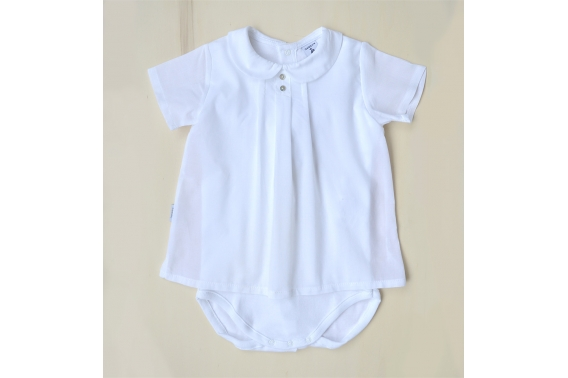 Body camisa blanca