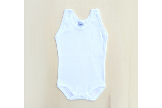 Body blanco con tirante ancho