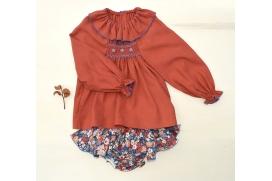 Camisa bordados