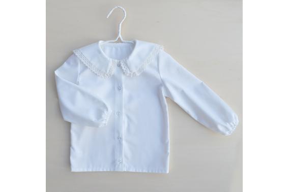 Camisa cuello bebé.