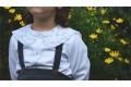 Camisa cuello florecitas