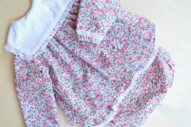 Blusa babero flores