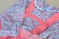 Camisa flores cuello bebé